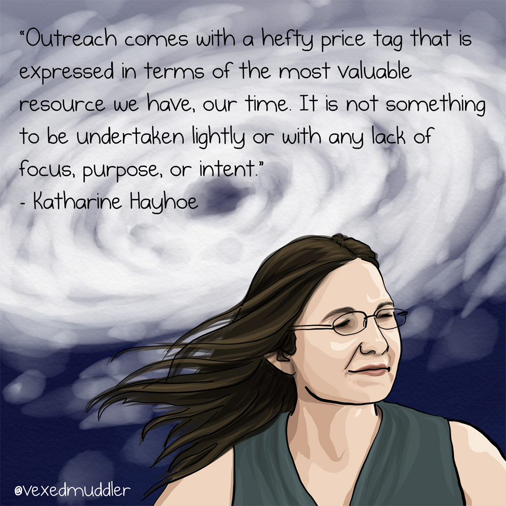 Katharine Hayhoe image by The Vexed Muddler