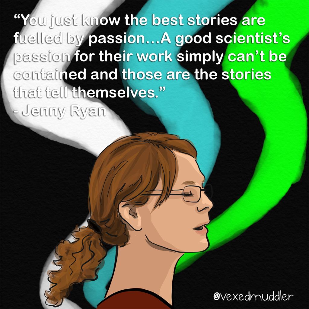 Jenny Ryan image by The Vexed Muddler