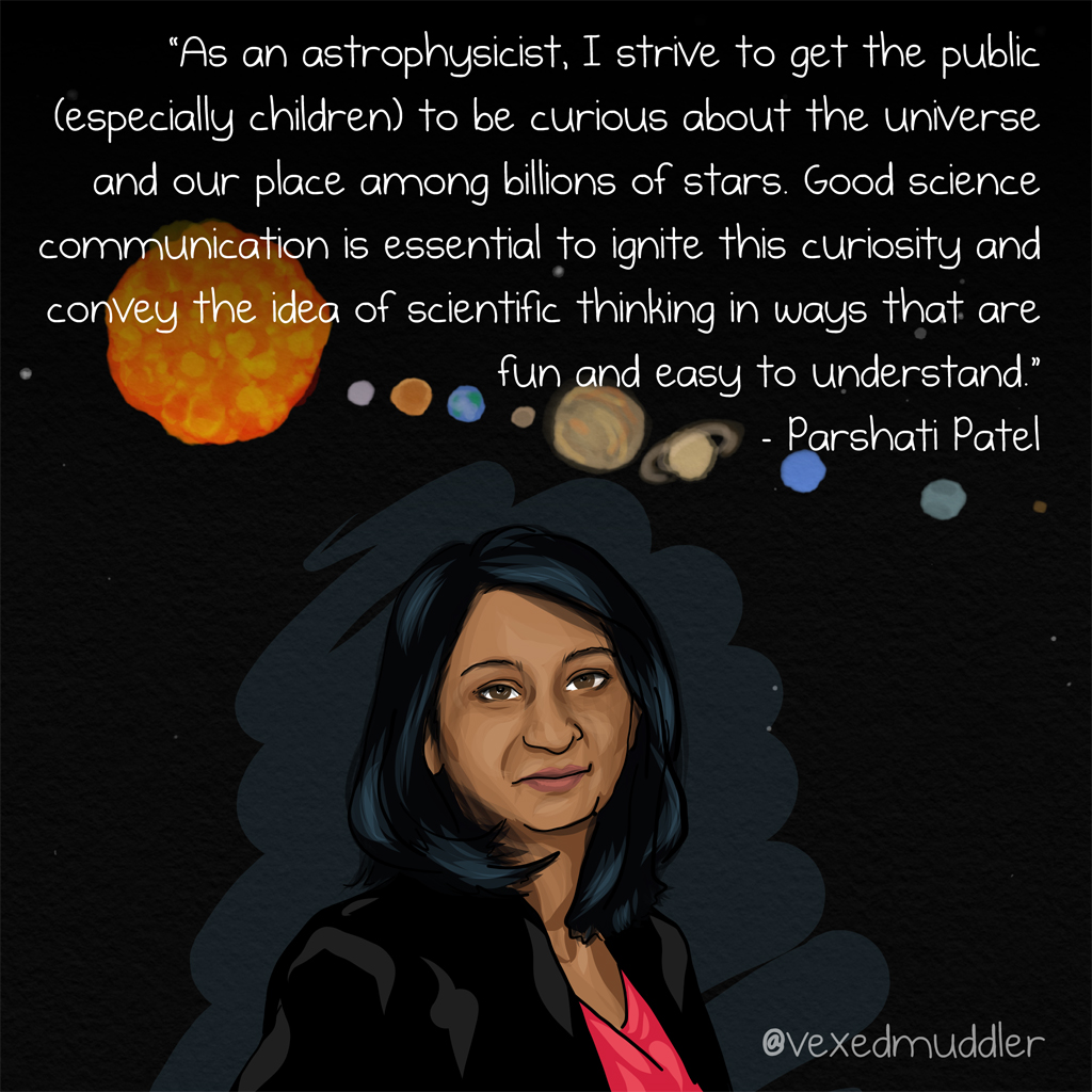 Parshati Patel image by The Vexed Muddler