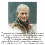 Robert Bateman self-portrait